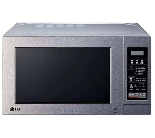 Mejor microondas de acero inoxidable LG