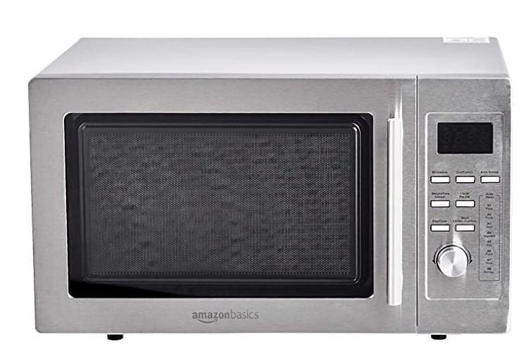 Mejor microondas de acero inoxidable de Amazon Basics