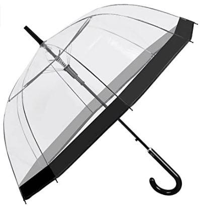 Mejor paraguas transparente de Perletti