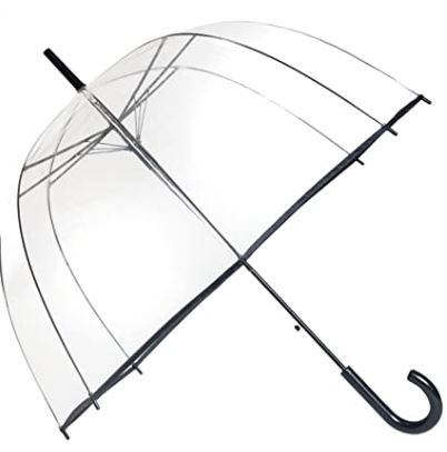 Otro paraguas transparente de Smati
