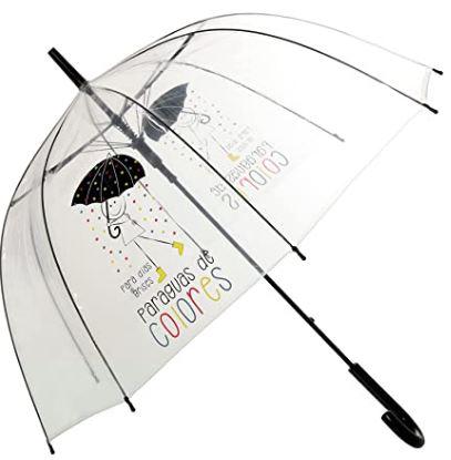 Mejor paraguas transparente de Eurasia