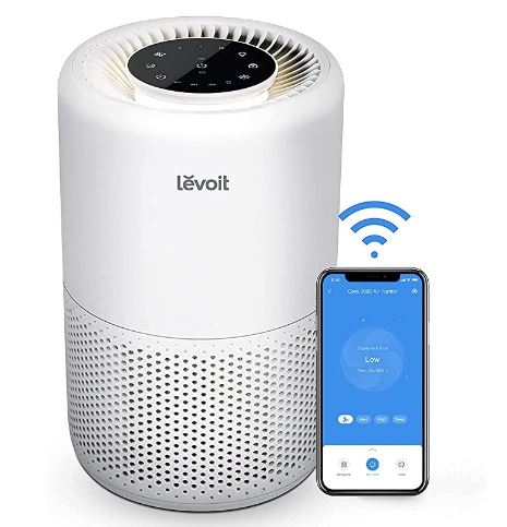 Mejor purificador de aire con filtro Hepa Levoit 200S