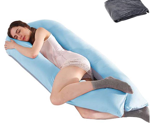 Mejor almohada para embarazadas en forma de U