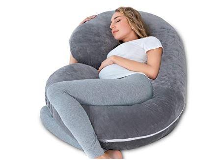 Mejor almohada para embarazadas en forma de C