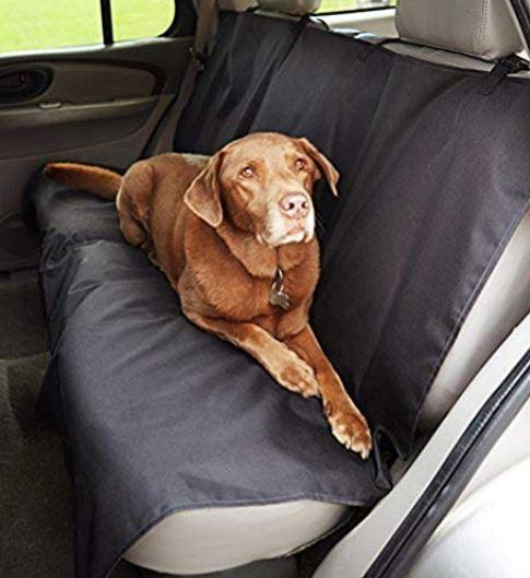 Mejor funda de coche para perros Amazon Basics