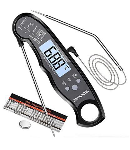 Mejor termómetro digital para cocina Nixiukol