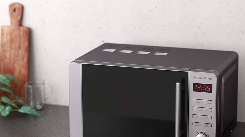 Top mejores microondas de acero inoxidable baratos